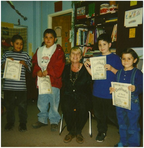 Donna Lea was the teacher for the Family Literacy Program jointly sponsored at Jemez Valley Elementary School by the YMCA and the Jemez Springs Public Library in 1998. The library also provided books and adult volunteers. The program included open houses for parents.