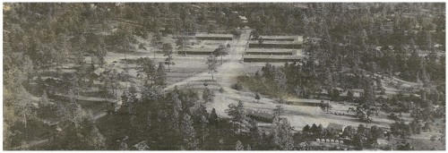 Civilian Conservation Corps(CCC) Camp near Ponderosa.