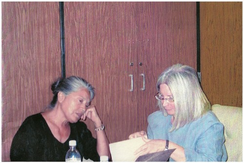 Photo of Rena Swentzeil and Carol Meine