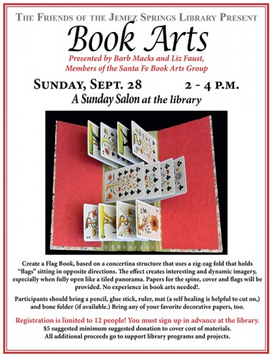 Book Arts Poster