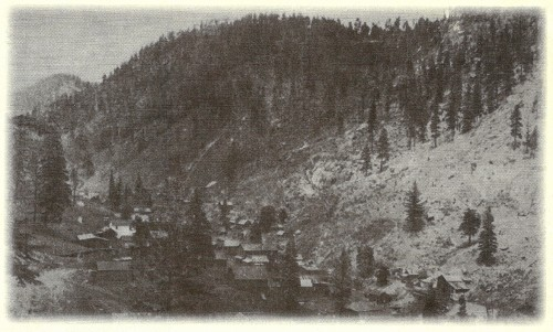 Bland at its peak in 1900. Miners settled the community, staking several silver and gold claims in the area.